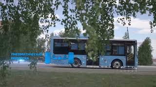 """Автобусы Ankai производства ТОО """"СарыаркаАвтоПром"""" (Костанай, Казахстан)"""