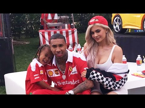 Kylie Jenner & Tyga Throw EPIC Birthday Party For His Son