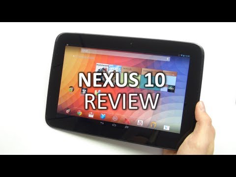 Review: Google Nexus 10 | SwagTab