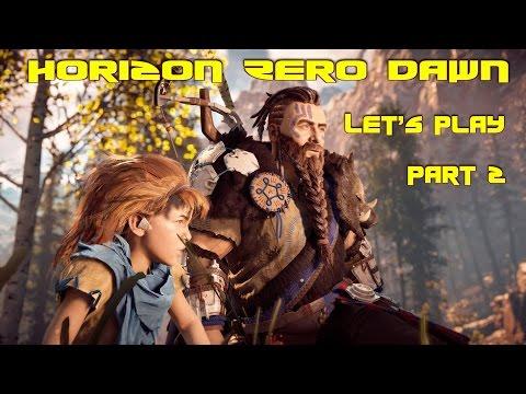 Horizon Zero Dawn Let's Play Part 2