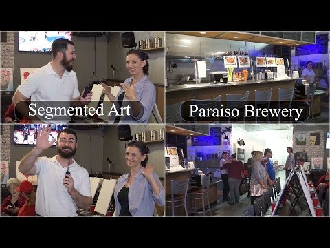 Interview with Kelly Gregg of Segmented Art @ Paraiso Brewery in Los Banos CA