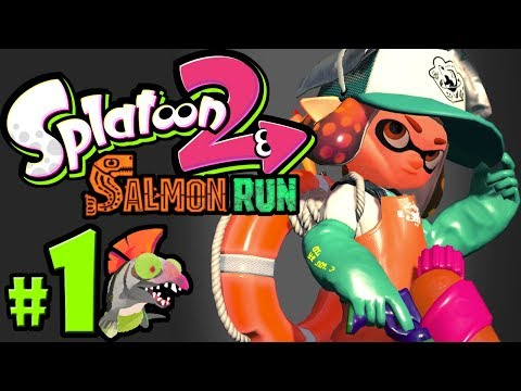 Splatoon 2 - Salmon Run PART 1 - Nintendo Switch Gameplay Walkthrough - Mr. Grizz's Boss Rush