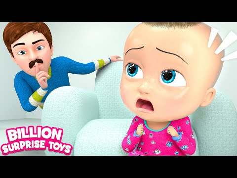 BABY & FAMILY PLAY SONG | READY or NOT? - 3D Animation Songs for Children