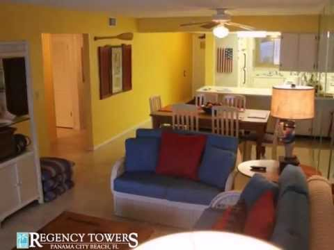 Vacation Condo Unit 606 at Regency Rentals Panama City Beach Florida
