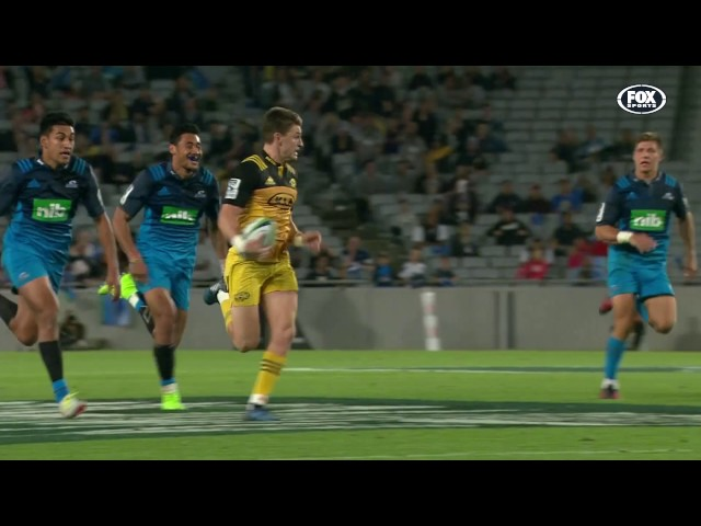 2017 Super Rugby Rd 8: Blues v Hurricanes