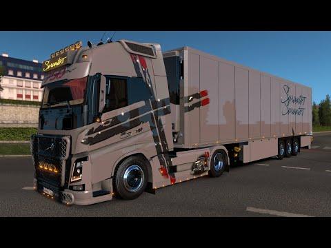 Euro Truck Simulator 2 Volvo FH 750 Sarantos Performance Edition