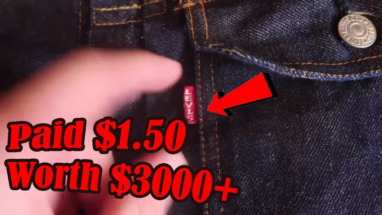 I Bought the CHEAPEST Big E 517xx Vintage Levis Denim Jacket in the World | 50s Selvedge Denim Grail