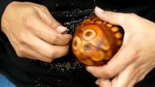 Tito Medina-Gourd Carver