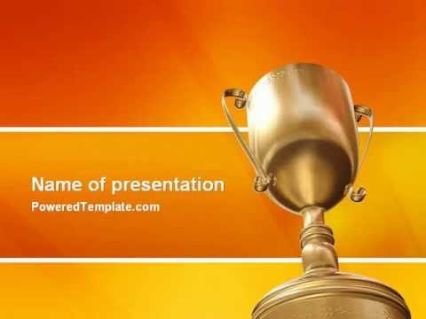 Award powerpoint template by poweredtemplate youtube award powerpoint template by poweredtemplate toneelgroepblik Image collections