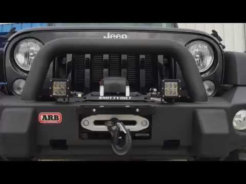 Arb Bumper And Smittybilt Winch On A 2015 Jeep Wrangler
