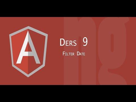 AngularJs Tutorial | 9 Filter Date