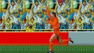 World Cup Italia 90 Gameplay HD✔ Sega Genesis Mega Drive let's play Walkthrough