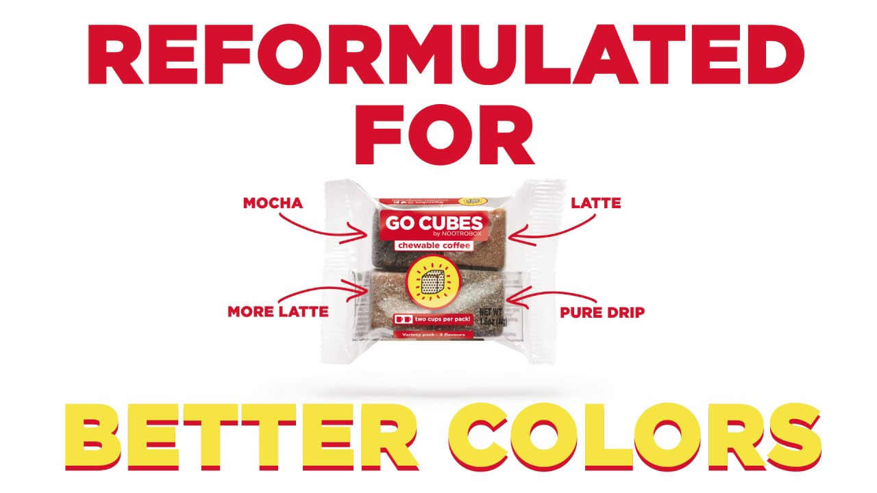 Chewable Coffee Has Never Been Better Introducing Go Cubes 2 0