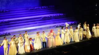 2017.04.25 Москва. Театр Россия. Бродвейский мюзикл Золушка. Поклоны