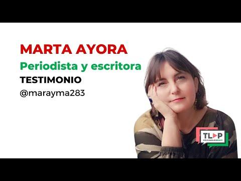 """Programa de mentoría """"Traspasa la Pantalla"""". Marta Ayora, periodista, cuenta su experiencia."""