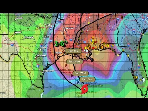 I've never seen a Weather System like Tropical Storm Cindy before.