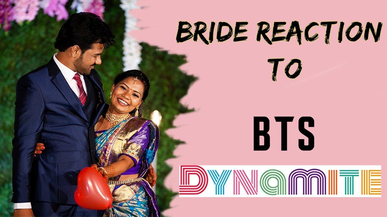 Bride Reaction To BTS Dynamite   SanJyo   Wedding Diaries
