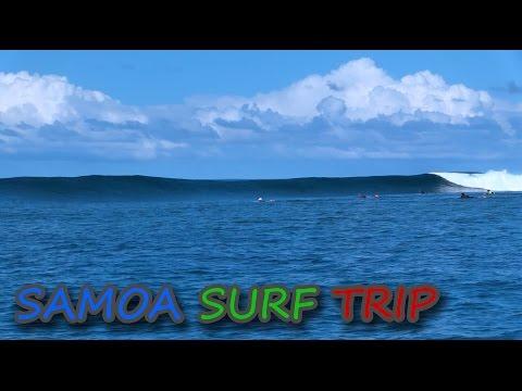 Samoa Surf Trip 2016