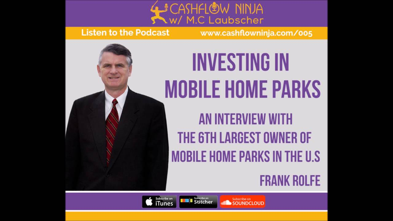 005 Frank Rolfe Investing In Mobile Home Parks