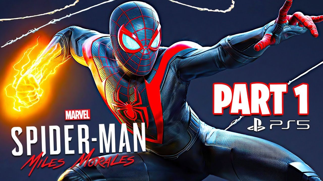 Spider Man: Miles Morales PS5 Gameplay Walkthrough, Part 1!