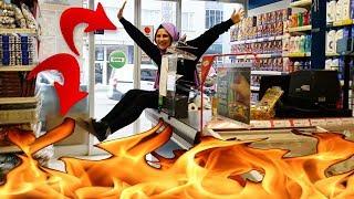 YER ALEVLİ CHALLENGE ! ( THE FLOOR IS LAVA CHALLENGE ) | Fenomen Tv