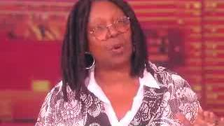 Whoopi hammers Will Cain on Redskins defense_