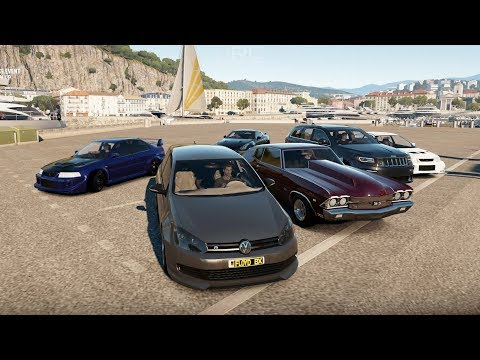 Forza Horizon 2:130MPH Street Vehicles | Golf R, Cobra, STi, Chevelle, Jeep, R35 & More