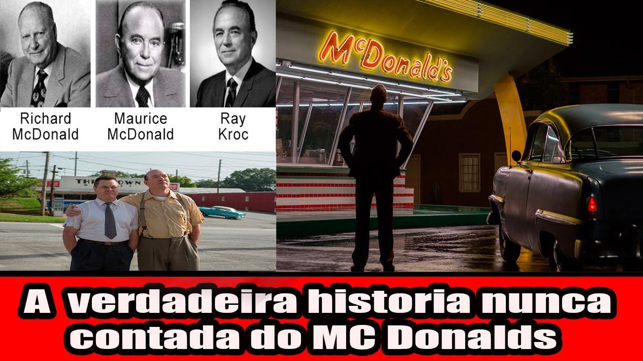 A verdadeira historia nunca contada do MC Donalds