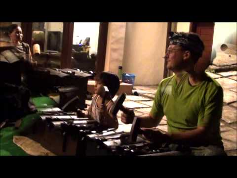 Private Workshop - Jeremy Grimshaw joing Gamelan Practices