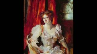 "Mario Lanza  - ""Be my love"" - John Singer Sargent (Music and Painting)"