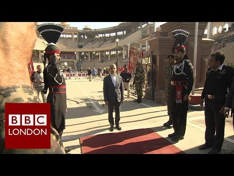 The Mayor of London crosses the border between India and Pakistan – BBC London News