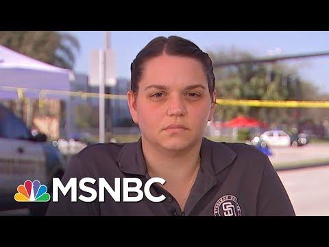 "Stoneman Douglas Teacher: ""The Kids Needed Me,"" So I Did Not Cry | MSNBC"
