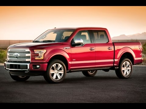 2015 Ford F-150 Start Up and Review 3.5 L Ecoboost V6