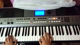 Ennamo Yedho song keyboard  notes and chords Done by PRASANNA