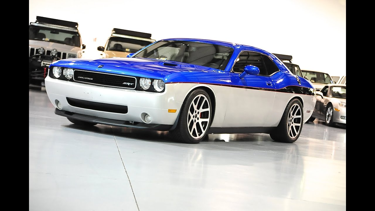 Davis Autosports Challenger Srt8 Custom Paint And Modded