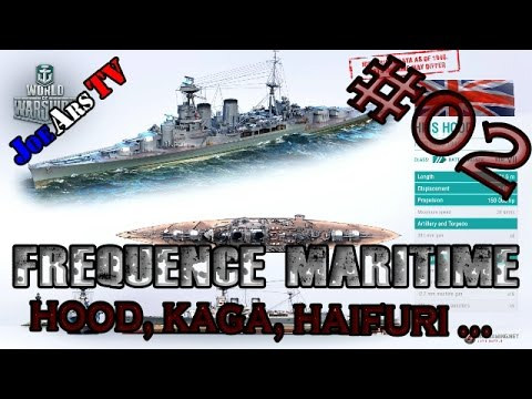 World Of Warships news of the week- Fréquence Maritime - Annonce Premium et actu     #02