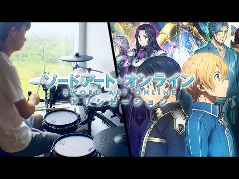 Sword Art Online: Alicization OP2 FULL - ASCA【RESISTER】- Drum Cover/を叩いてみた