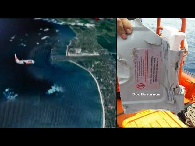 Kronologi Jatuhnya Pesawat Lion Air JT-610 Di Perairan Karawang, Senin 29/10/2018