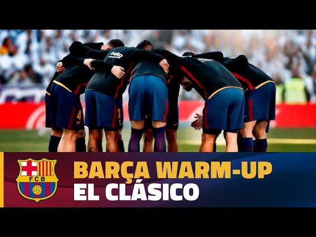 FULL STREAM | Real Madrid - FC Barcelona warm-up #ElClásico
