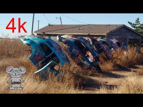 VW Slug Bug Ranch in 4K
