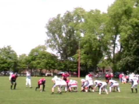 Quarterback Sack Team Bremen #44