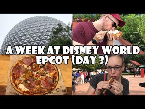 A Week at Disney World: EPCOT! (Day 3)