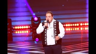 Dean Martin - That&#39s Amore. Vezi aici cum canta Adrian Salagean, la X Factor!