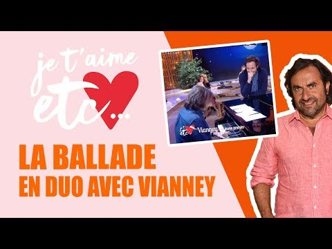 André raconte Vianney en musique - Je t'aime etc