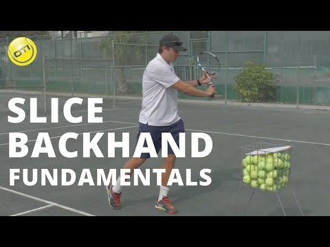 Tennis Lesson: Slice Backhand Fundamentals