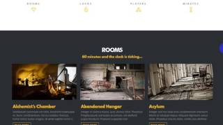 Escape - Real Life Room Escape Game Company WP Theme With Project Files