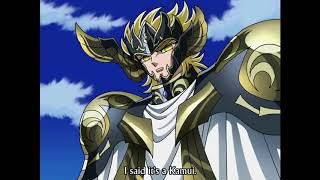 God Cloth Seiya versus Thanatos Sub Eng