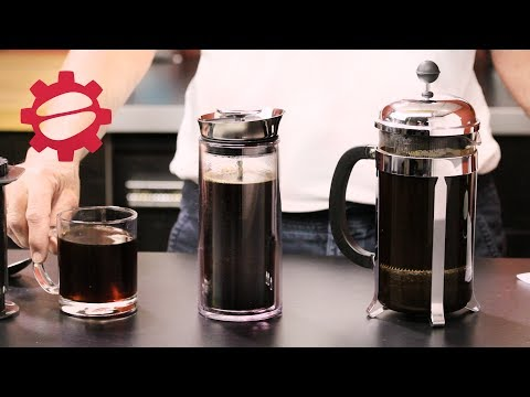 American Press vs Aeropress vs French Press