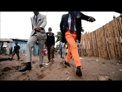 Congo's dandies give new meaning to fashion victim