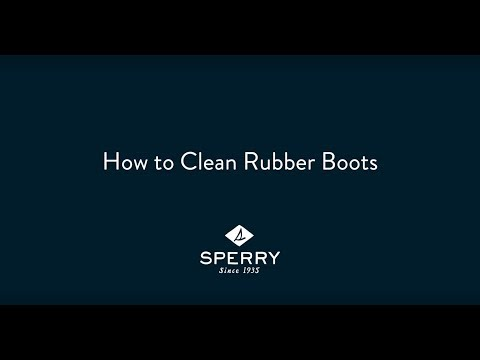 How to Clean Your Rubber Sperry Duck Boots